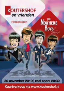 Kaartjes Nowhere Boys